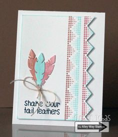 Chrissie Tobas (Harvest Moon Papiere): Spotted Sneak Peek, Spotted, Birds of a Feather, The Alley Way Stamps, TAWS, cards, clear stamps