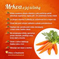 Mrkva a jej účinky na chudnutie a zdravie človeka Home Doctor, Home Health Care, Healing Herbs, Natural Medicine, Fruits And Vegetables, Vegan Vegetarian, Cooking Tips, Natural Remedies, Healthy Lifestyle