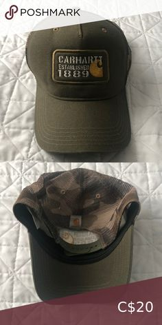 Carhartt trucker hat Used, in good condition Bundle and save, off when you buy two or more items Carhartt Accessories Hats Plus Fashion, Fashion Tips, Fashion Trends, Carhartt, Man Shop, My Favorite Things, Hats, Stuff To Buy, Accessories