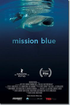 Mission Blue is a feature documentary about legendary oceanographer, marine biologist, environmentalist and National Geographic Explorer-in-Residence Sylvia Earle, and her campaign to create a global network of protected marine sanctuaries.