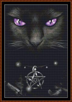 Cross Stitch Chart / Pattern - FAMILIAR [ PDF on a CD ] WKD - Animals - Cats http://www.amazon.co.uk/dp/B00CI08MLE/ref=cm_sw_r_pi_dp_cSnyvb1SJ4C8K