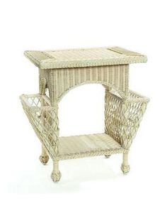 582609b1ad14 Cottage Home Furniture - Cottage Wicker Magazine Table Magazine Table