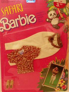 Vintage Mattel Barbie Safari Moden 1594 NRFB 1988 von ShersBears