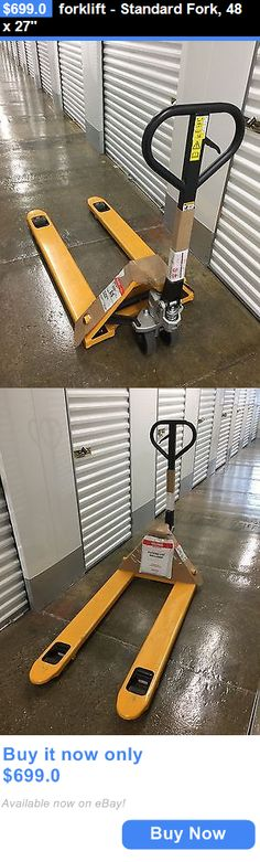 heavy equipment: Forklift - Standard Fork, 48 X 27 BUY IT NOW ONLY: $699.0