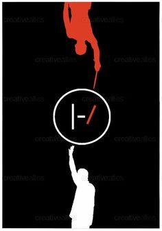 TWENTY ONE PILOTS Poster by Suzana Halder on CreativeAllies.com