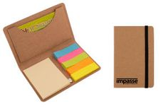 AP Specialties CPP 3070 recycled holder for business cards includes sticky notes and paper flags. $0.89