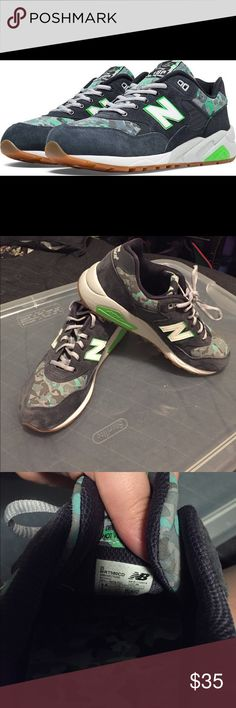 New Balance 580 Urban Noise Camo barely worn new Balance New Balance Shoes Sneakers