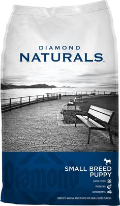 Diamond Naturals Small Breed Puppy Formula Dry Dog Food, 40-lb bag - Chewy.com