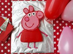 Birthday cake recipe: How to make a Peppa Pig birthday cake - YouTube