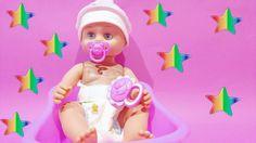 New Baby Born Doll Shower ★ Baby Love You Forever ★ I Will Drink A Water...