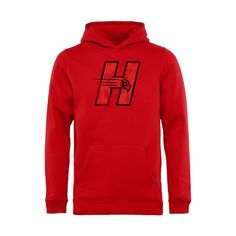 Hartford Hawks Youth Classic Primary Pullover Hoodie - Scarlet - $34.99