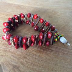 Jamaican bracelet *Price drop b4 donation* Natural beads with clasp fastening Jewelry Bracelets