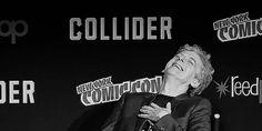 Peter Capaldi at New York Comic Con...