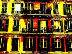 Niçoise façade