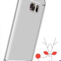 Carcasa electroplacata Samsung Galaxy S7 edge, husa slim protectie spate Galaxy S7, Samsung, Electronics, Iphone, Consumer Electronics