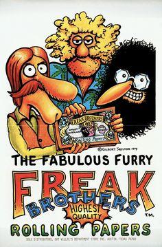 The Fabulous Furry Freak Brothers ; Gilbert Shelton