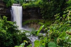 Minnehaha Falls in Minneapolis, Minnesota