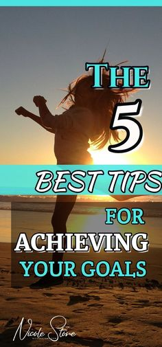 ACHIEVE YOUR GOALS WITH THIS 5 STEP STRATEGY. Are you looking to set goals and accomplish them? Then this is the perfect strategy for your.  Learn how to set goals, create habits, and improve your life.  5 Easy steps you can start today. Click through for more! #goals #habits