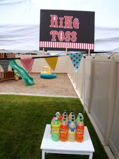 Circus Birthday Party Ideas   Photo 1 of 38   Catch My Party
