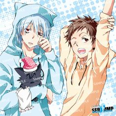 Kuro and Mahiru Servamp Servamp Anime, Hot Anime, Anime Art, Anime Boys, Sleepy Ash, Ciel Nocturne, Yuri, Manga Story, Wattpad