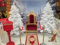 Christmas Grotto Ideas, Christmas Fayre Ideas, Christmas Party Nights, Christmas Stage, Christmas Craft Fair, Christmas Backdrops, Christmas Party Themes, Childrens Christmas, Christmas Minis