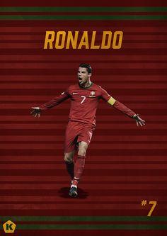Top 10 Stars at the World Cup | KICKTV by Luke Barclay, via Behance