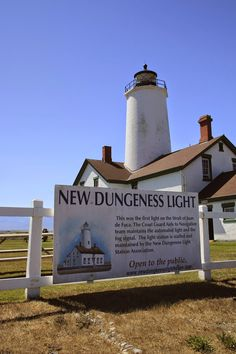 New Dungeness Light, Dungeness Spit, Sequim and Olympic National Park, Washington Olympia Washington, Washington State, Sequim Washington, Dungeness Spit, Places To Travel, Places To Go, Crescent Lake, Lighthouse Photos, Evergreen State
