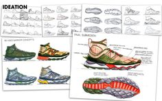 New Balance Trailscaler by Gabriel Nicasio Drawing Board, New Balance, Sketches, News, Drawings, Gabriel, Manual, Communication, Inspiration