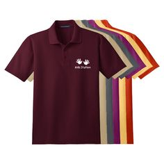Imprinted Port Authority® Stain-Resistant Polo (Q885235)