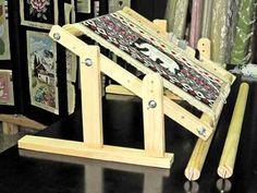 bastidor para bordar tapices y gobelinos, comodísimo y útil