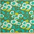 Joel Dewberry Home Decor Sateen Notting Hill Kaleidoscope Basil - Discount Designer Fabric - Fabric.com