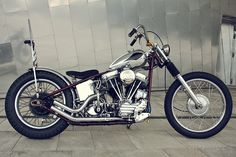James Roper-Caldbeck custom build w/ 1964 Harley panhead motor