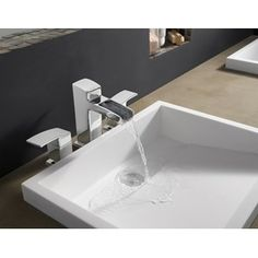 Buy the Pfister Polished Chrome Direct. Shop for the Pfister Polished Chrome Kenzo Single Hole Bathroom Faucet with Metal Pop-Up Assembly and save. Widespread Bathroom Faucet, Lavatory Faucet, Bathroom Sink Faucets, Washroom, Contemporary Bathroom Faucets, Waterfall Faucet, Construction, Faucet Handles, Shower Tub