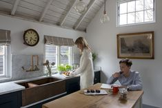 As seen in The English Home and the home of Middleton, the Barn is an expression of our passion for the craft. Classic styling with a fine finish. Countertop Backsplash, Wood Countertops, Farmhouse Interior, Country Farmhouse, Barn Kitchen, English Kitchens, Architecture Awards, Handmade Kitchens, English House