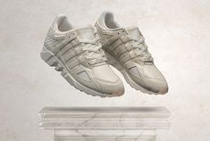 After teaming up with Saucony on a Play Cloths collab, Pusha T announced that he will be releasing his own version of the adidas Originals EQT Running Guidance '93 this month, hitting select retailers on Dec. 23, 2014.