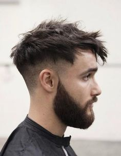 46 Short Sides Long Top Hairstyles for Men ULTIMATE GUIDE) is part of Mens hairstyles short - Upgrade your style in 2019 with these super amazing 46 short sides long top hairstyles These haircuts will definitely bring out your trendy side Popular Haircuts, Cool Haircuts, Haircuts For Men, Modern Haircuts, Mens Messy Hairstyles, Hairstyles Haircuts, Hairstyle Ideas, Anime Hairstyles, Wedding Hairstyles