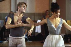 Alessandra Ferri and Mikhail Baryshnikov in the movie 'Dancers', 1987