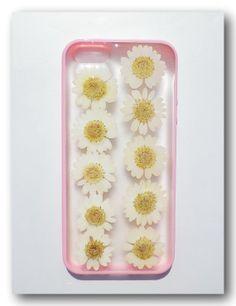 Handmade iPhone 5/5s case Resin with Real Flowers by Annysworkshop, $19.00