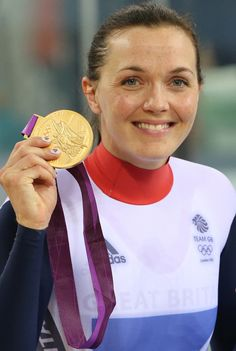 Victoria Pendleton - Gold medal cyclist at London 2012 Olympic Games from Central Bedfordshire