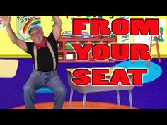 Brain Breaks - Action Songs for Children - From Your Seat - Kids Songs by The Learning Station - YouTube