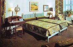 "thegikitiki: ""1960s Bedroom """
