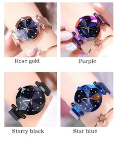 Stellar Sky Shiny Quartz Wristwatch for True Fashion Divas Stylish Watches For Girls, Trendy Watches, Women's Dress Watches, Jewelry Shop, Jewellery, Quartz Watch, Fashion Watches, Bracelet Watch, Accessories