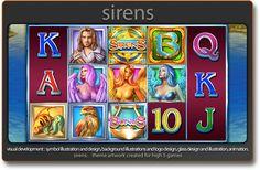 Shannon Maer - Casino Video Slot Game Development - Theme Artwork - Balance GFX - Gallery - sirens_igt_b.png