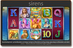 Shannon Maer - Casino Video Slot Game Development - Theme Artwork - Balance GFX - Gallery - sirens_igt_b.png