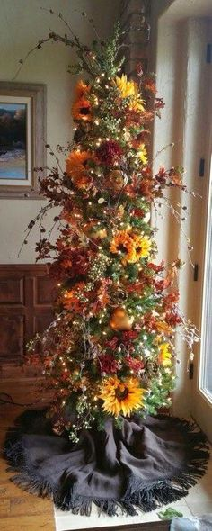 Make a harvest tree with autumn picks from New Way https://www.facebook.com/NewWaySigns