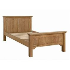 Hudson Bay panel bed frame