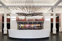 The Public Theater Lobby - Paula Scher