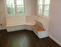 built in kitchen benches | Custom Built In Benches by Sjk Woodcraft & Design | CustomMade.com