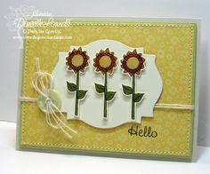 Created by Danielle Lounds! My Design, Card Making, Artsy, Paper Crafts, Create, Day, Projects, Stamps, How To Make