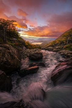 """traveling-lens: """" 💙 Patagonian Rhapsody on by Artur Stanisz, Vancouver,…. Beautiful Sunset, Beautiful World, Beautiful Places, Beautiful Pictures, Patagonia, Vancouver, Celestial, Amazing Nature, The Great Outdoors"""